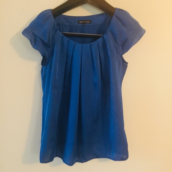 Violet & Claire Tops - 3 for $25 Violet & Claire royal blue top. Small